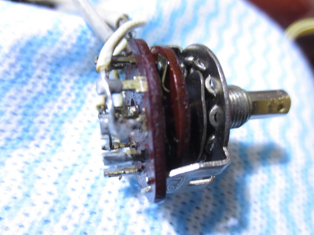 TEISCO ビンテージフルアコ Model8 ロータリースイッチ