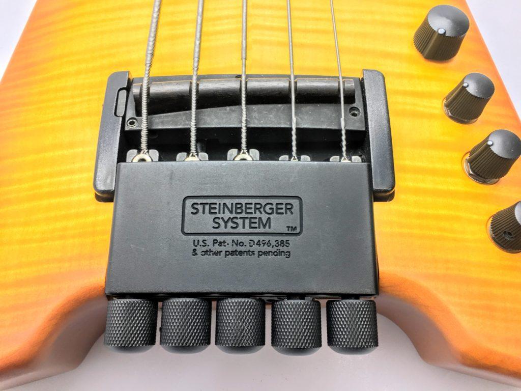 Steinberger スタインバーガー Synapse XS-15FPA Customのブリッジ ピエゾPU