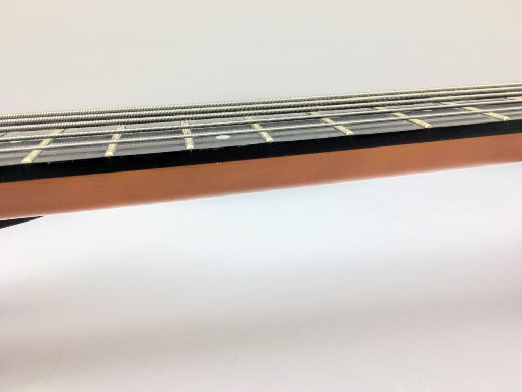 Steinberger スタインバーガー Synapse XS-15FPA Customのネック横から