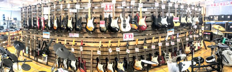 ギターコーナー