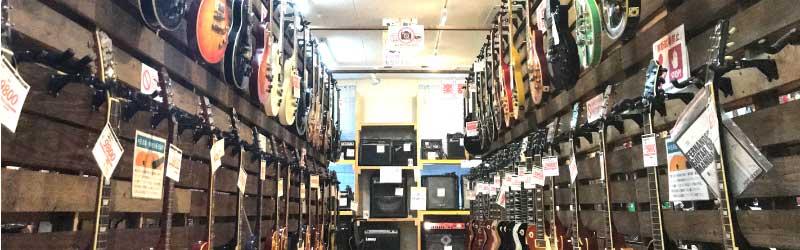 レスポールギターコーナー