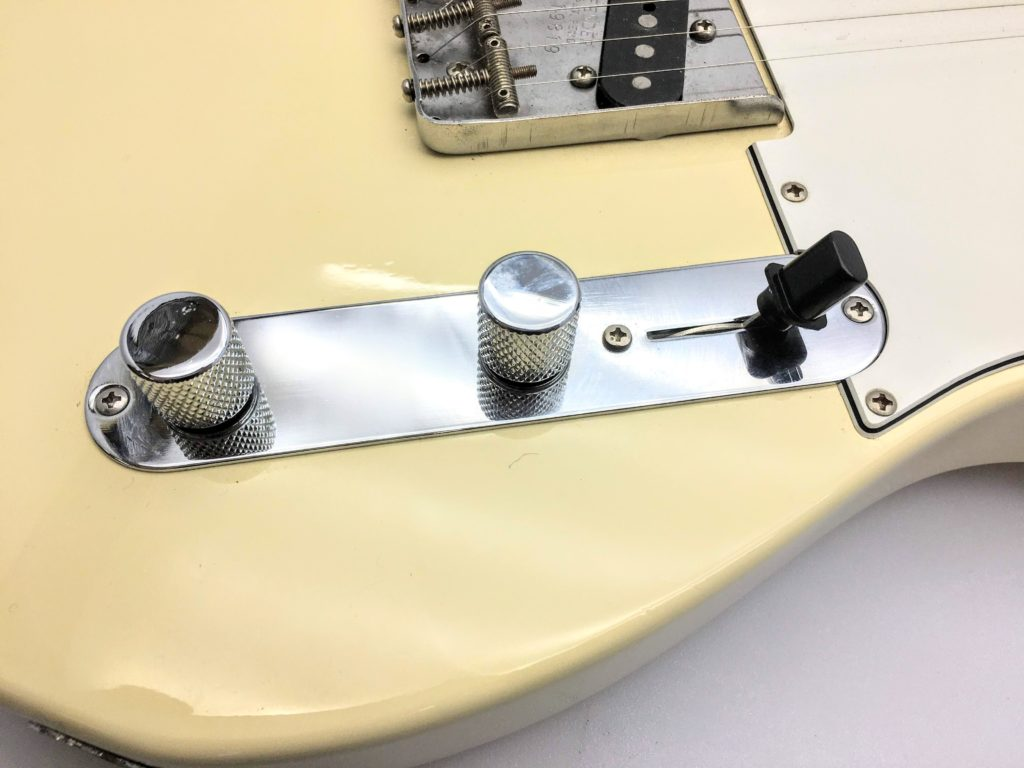 Fender Japan TL-62 コントロール部