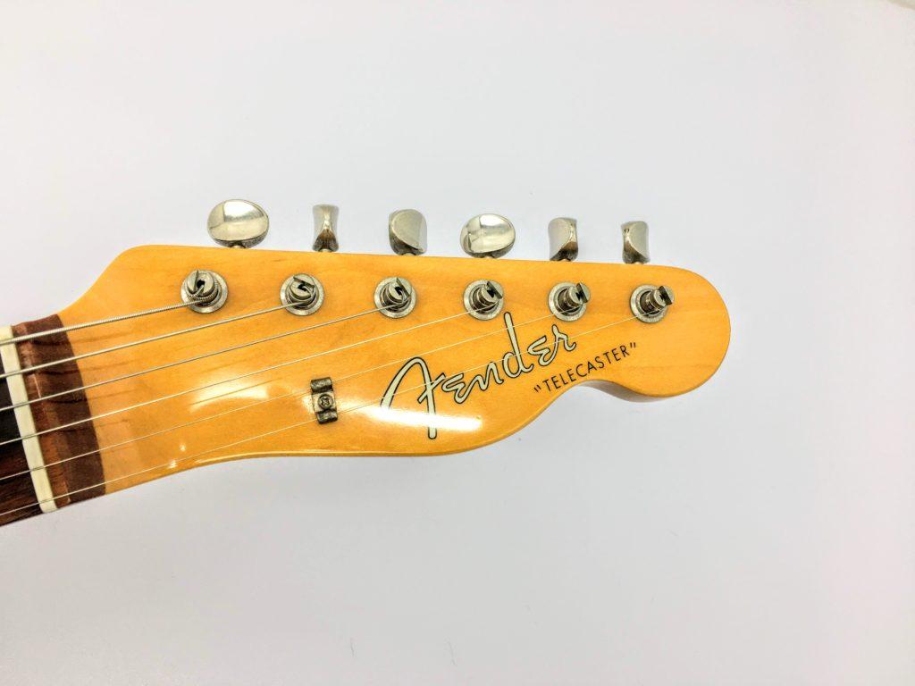 Fender Japan TL-62 ロゴ