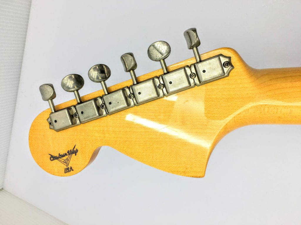 Fender USA Custom Shop 1969 Stratocaster ラージヘッド 裏