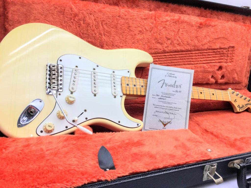 Fender USA Custom Shop 1969 Stratocaster 全体写真