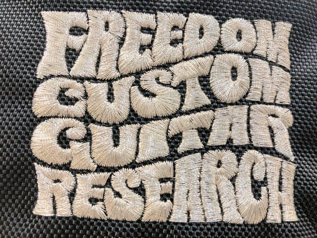 Freedom Custom Guitar Research ロゴ